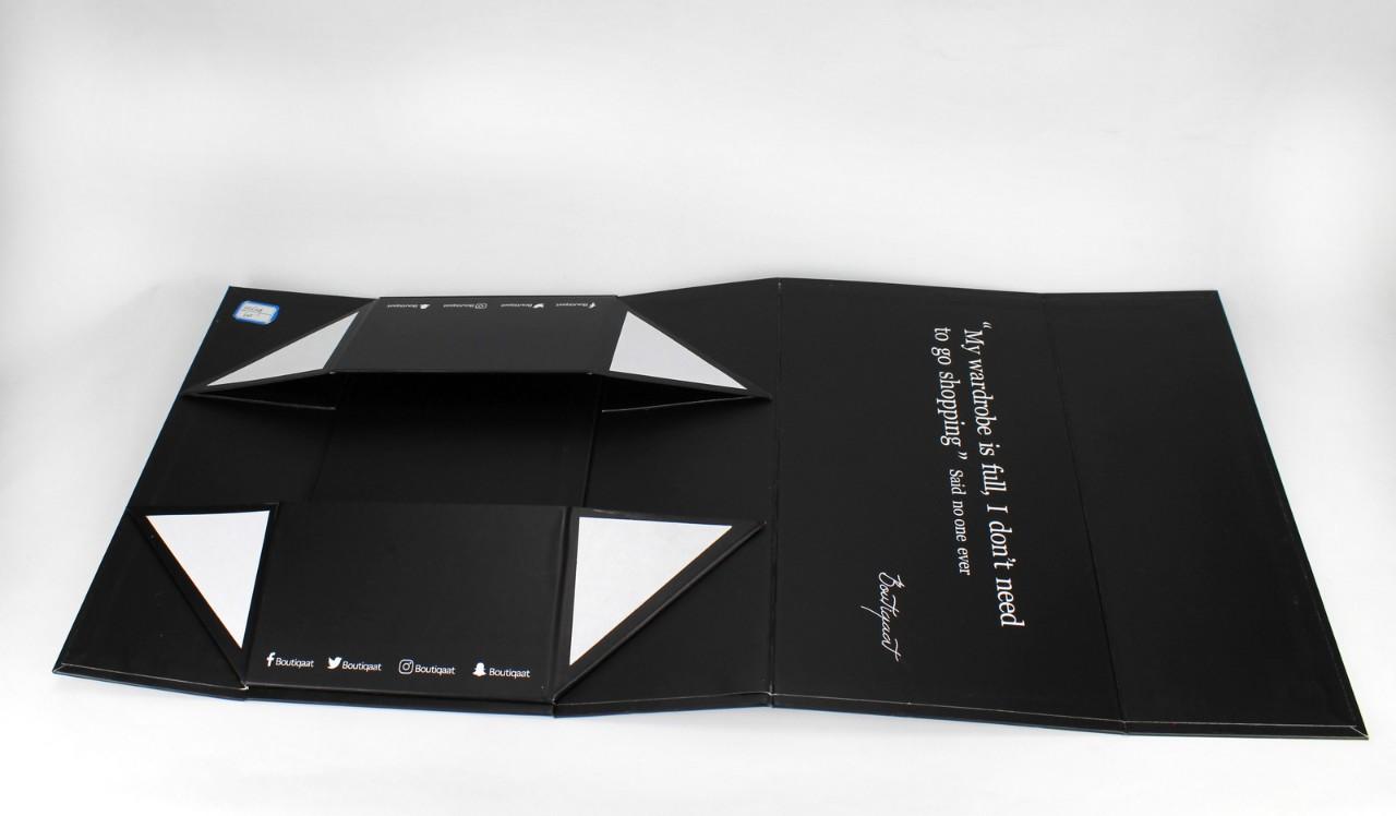 Boîte dépliable en carton